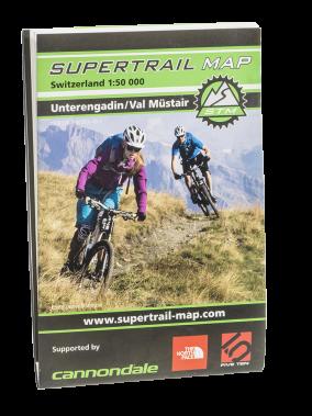 Supertrail Map Unterangdin Val Müstair
