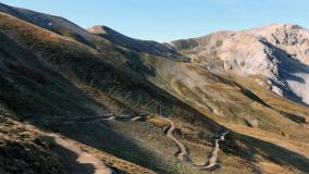 Neuer Trail Chaschaunapass
