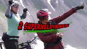 Bahnentour Arosa Lenzerheide Bild Intro Film Superheldinnen Gravity Girls
