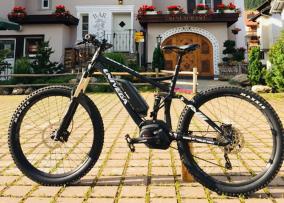 Univega-E-Bike mit Hotel Wynegg