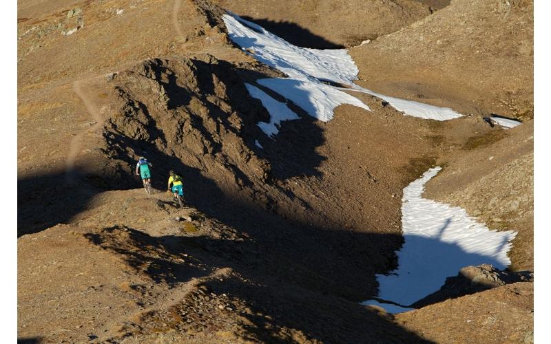 Chörbschhorn auf der Bahnentour Davos Klosters